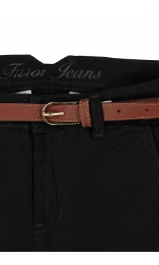 Jeans color gris Modelo Chino skinny