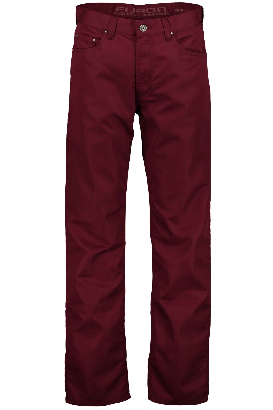 Pantalón recto color vino Modelo Maverick