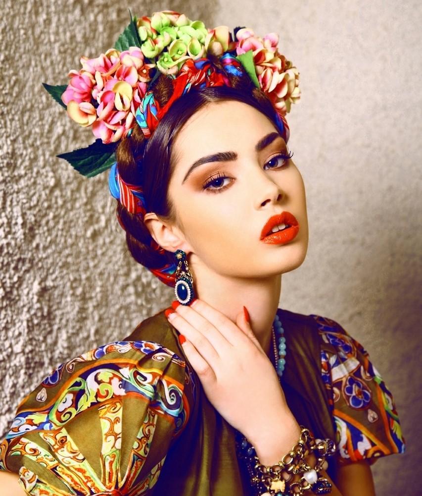 Imagen perfecta peinados mexicanos Fotos de los cortes de pelo de las tendencias - Peinado y maquillaje patrio para el 15 de Septiembre. - Blog